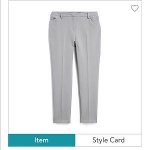 Tribal slim straight pants